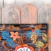 Jacobean Hooked Rug