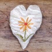 Daisy Hooked Heart