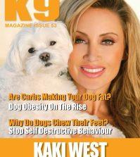 K9 Magazine Issue 53 Cover with Kaki West - web