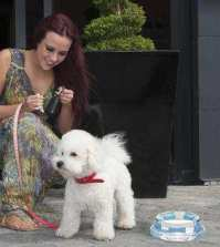 Stephanie Davis and Romeo Malmaison Liverpool