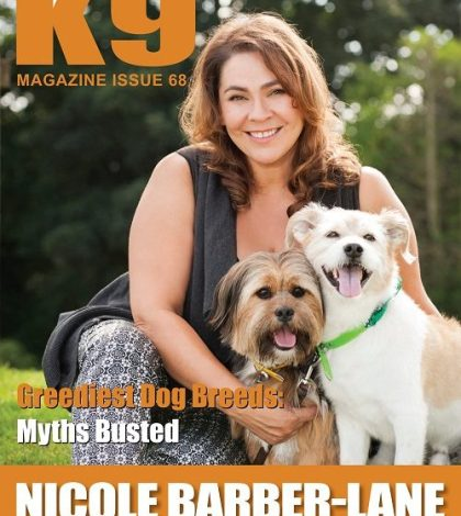 K9 Magazine Cover Issue 68 - LR