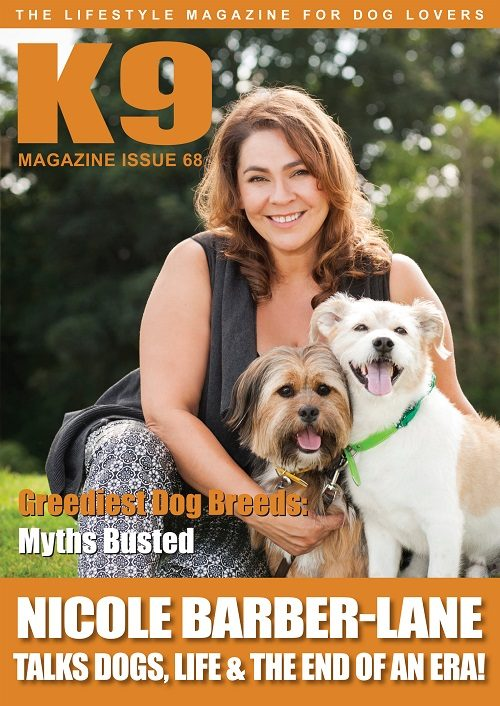 K9 Magazine Cover Issue 68 - LR
