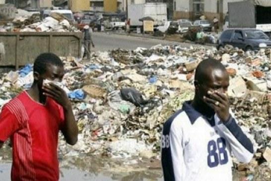 Assainissement : en attendant le transfert des ordures à Dubreka
