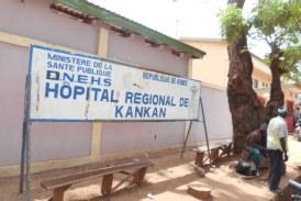 Des coups de pinceaux sur les murs de l'hôpital régional de Kankan !