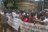 Grève des enseignants : les élèves manifestent leur mécontentement