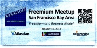 FreemiumSFBay Freemium SF Bay Area Meetup Report – January 10, 2013