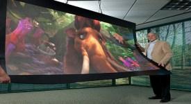 flexible tv display
