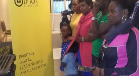 A section of parents and children who attended the launch of the Digital Kids Show at Prestige Mall in Nairobi.