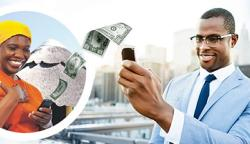 Mobile money remmittence
