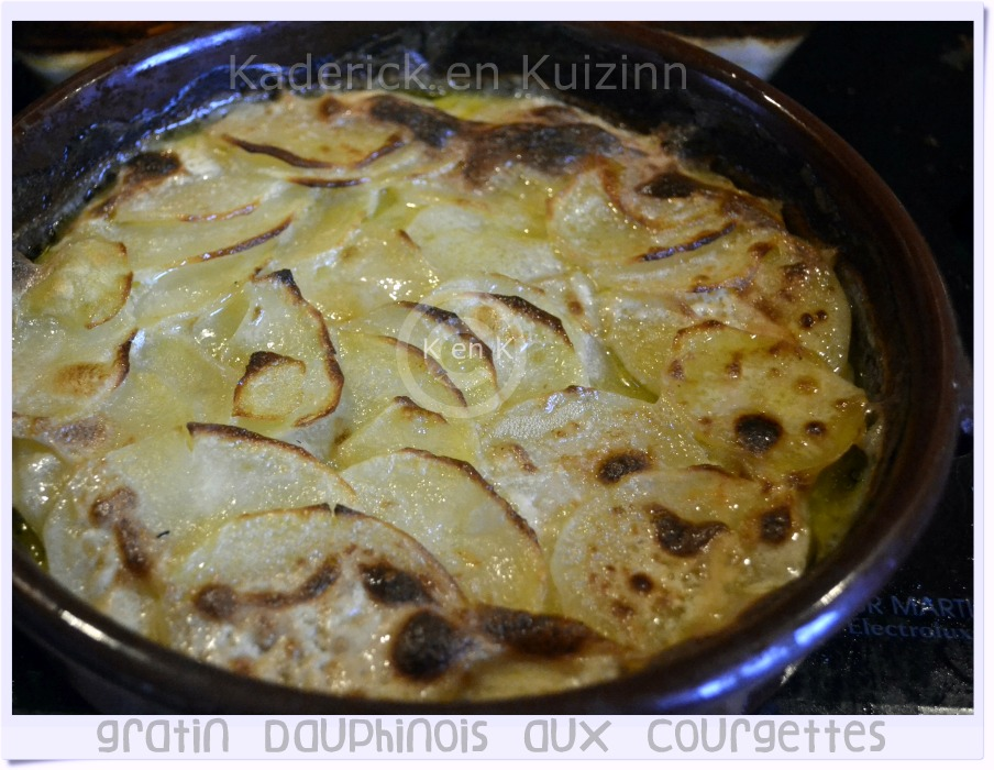 gratin dauphinois aux courgettes recette de cuisine. Black Bedroom Furniture Sets. Home Design Ideas