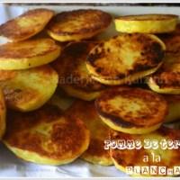 Plancha pomme de terre rissolées