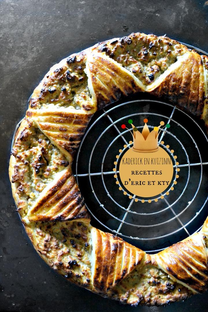 Janvier 2016 le top 10 des recettes kaderick en kuizinn for Galette des rois a la frangipane