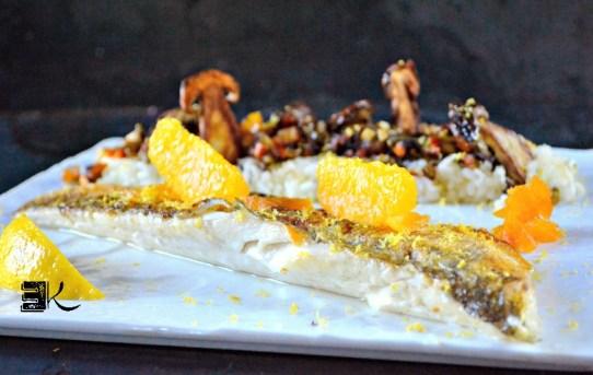 Recette filet de sandre sauté de légumes à la plancha - Kaderick