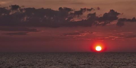 Zachód słońca, fotograf: Tomasz Sergej