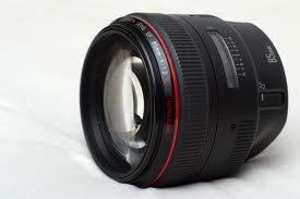 Obiektyw stałoogniskowy firmy Canon 85 mm f/1.2