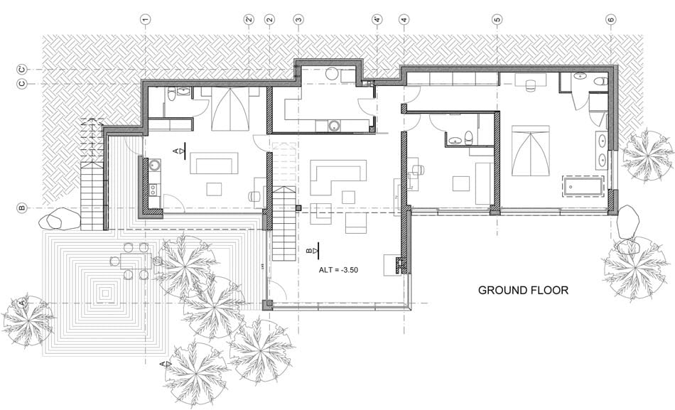 Modern country house plans to break visual monotony for Contemporary country house plans