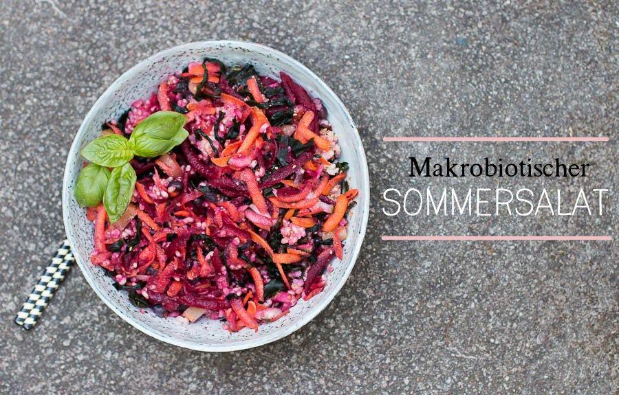 schnell + leicht | Makrobiotischer Sommersalat