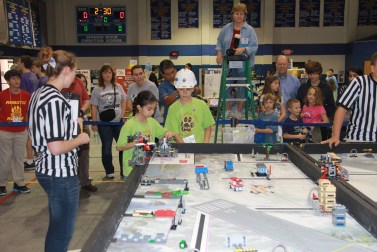 Robotics Competition @ FIRST Lego League