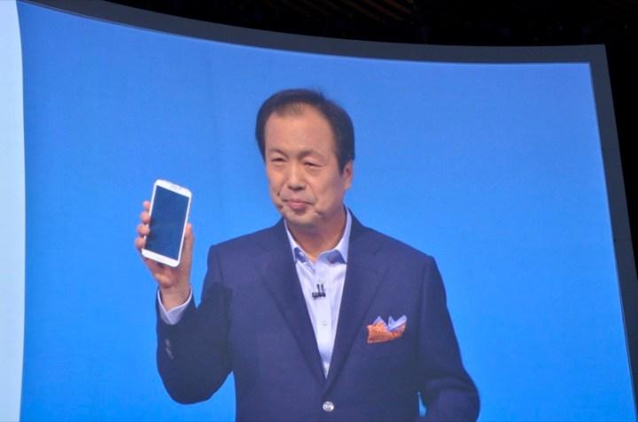 JK Shin Samsungi president