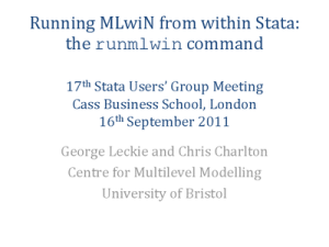 london 0 300x225 Running MLwiN from within Stata