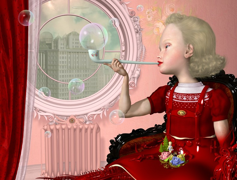 Ray Caesar, Bubbles, 2003