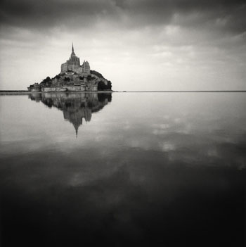 7 floating abbey - michael kenna