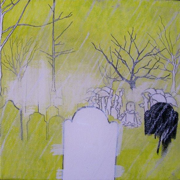 stella (Stefania Gagliano), funerale sotto la pioggia