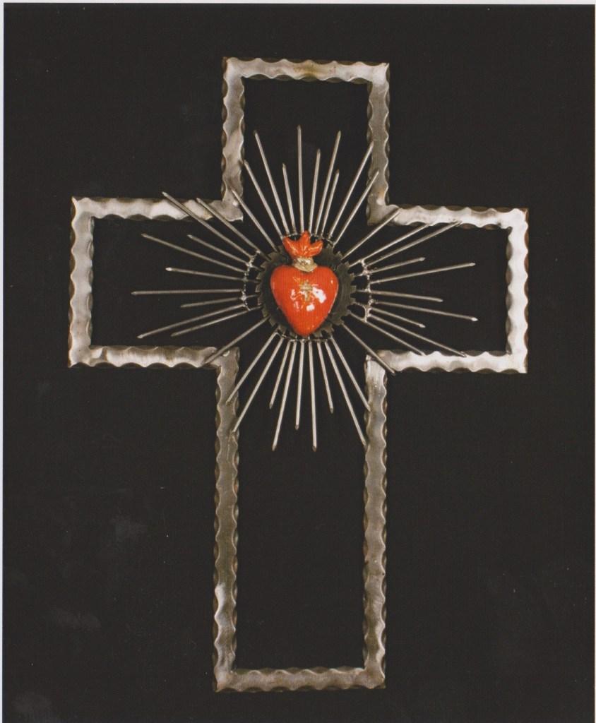 Lino Borghi, Croce con sacro cuore