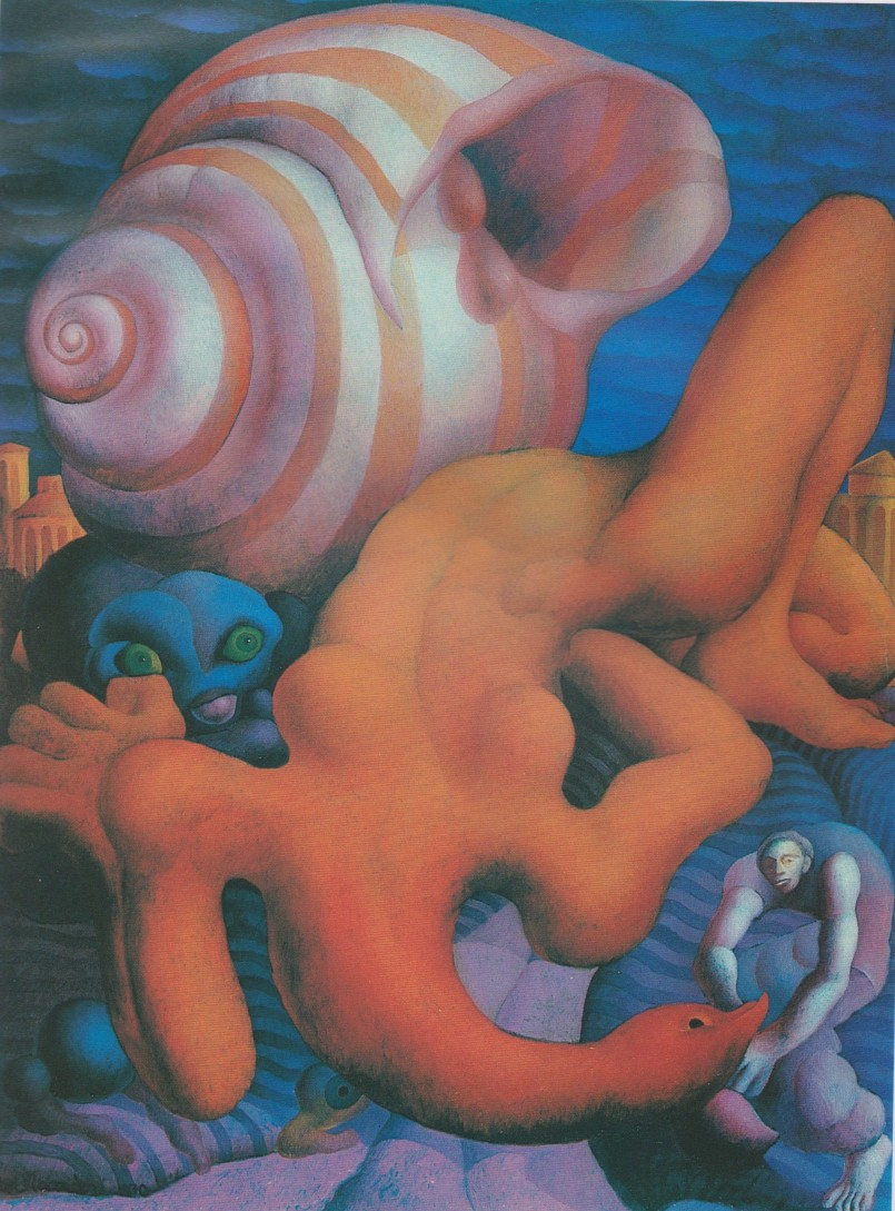 Walter Mac Mazzieri, Notte Gitana, 80x60, 1970.