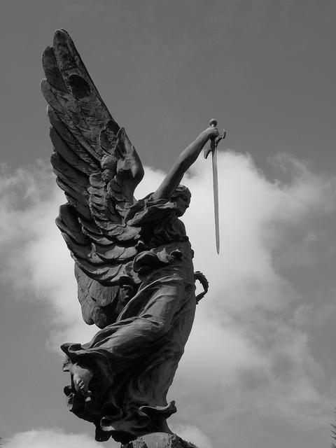 Angel Statue by davydubbit Angel Statue