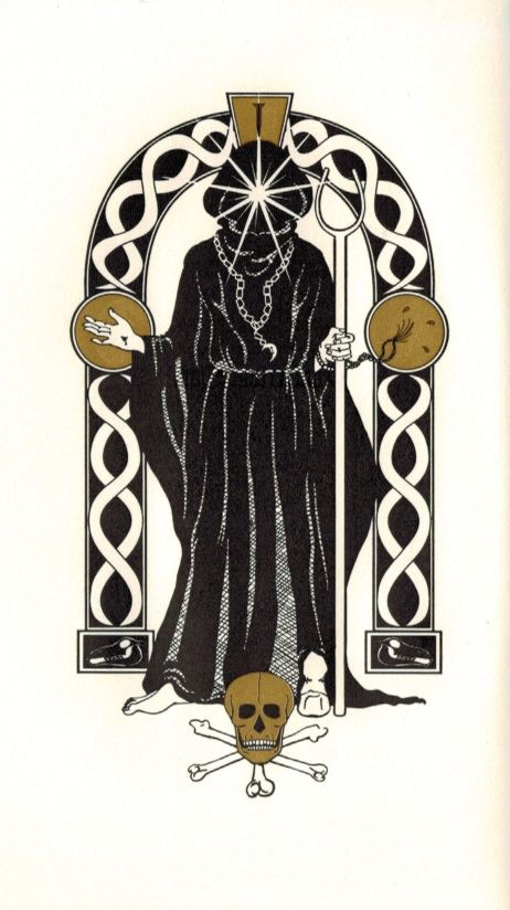 From the Psalter of Cain, art by Daniel Schulke