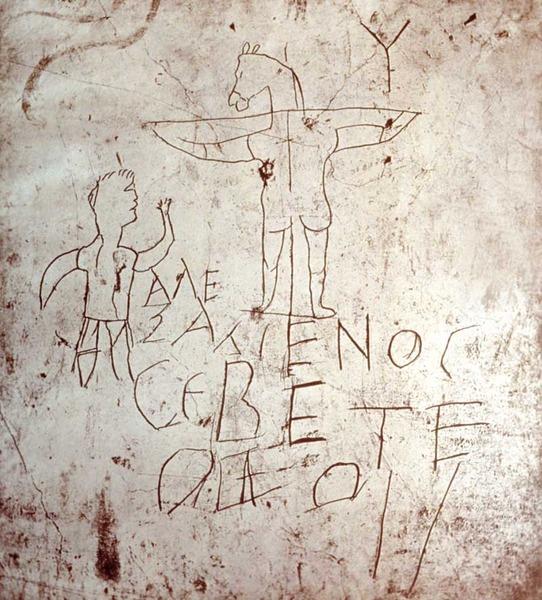 graffito palatino
