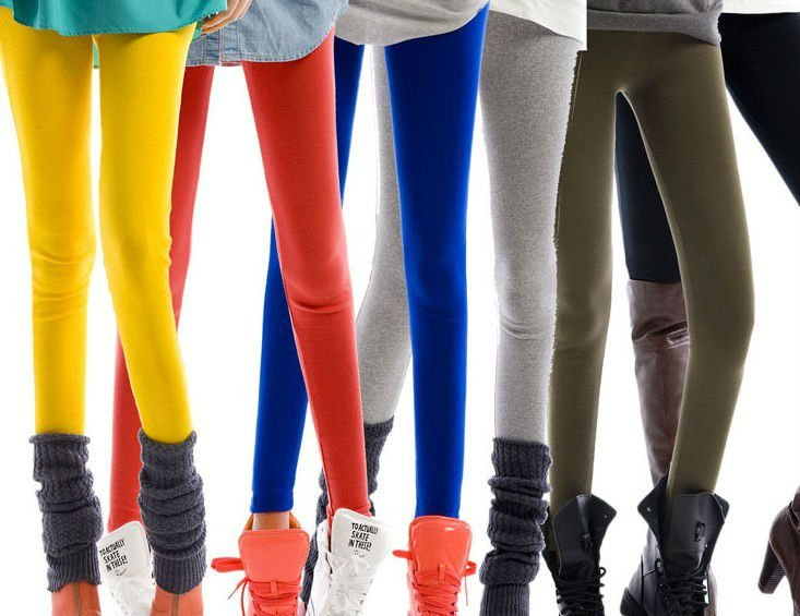 Colorful_cotton_leggings_girls_leggings_plain_cotton