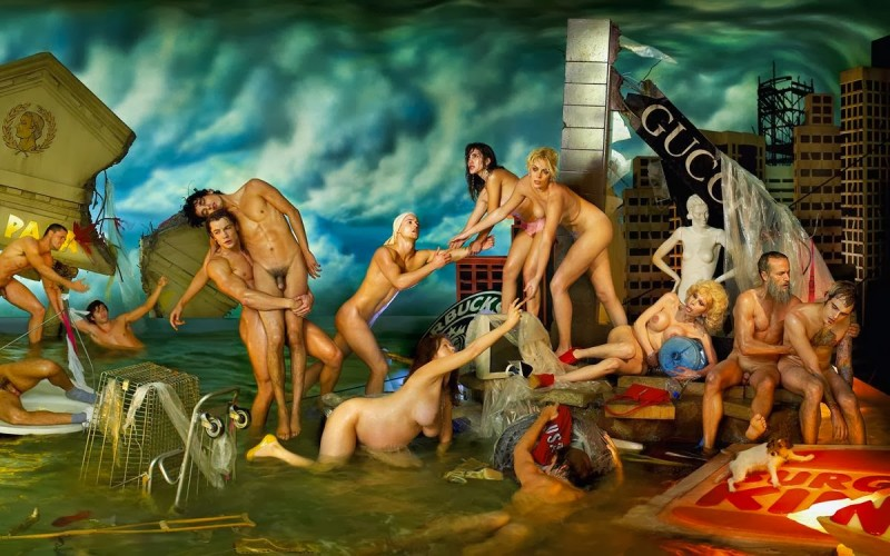 David LaChapelle, deluge_Plate30