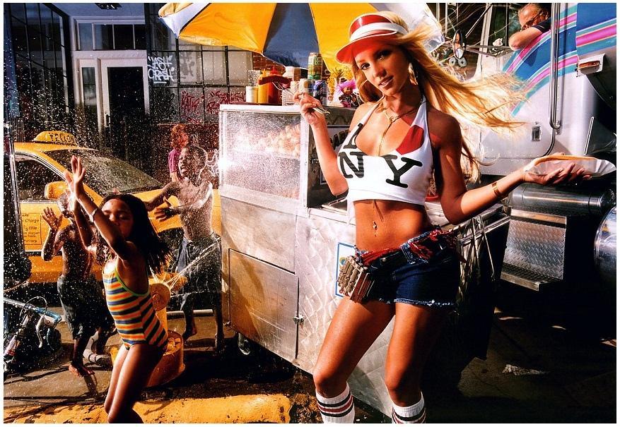 David LaChapelle Britney New York
