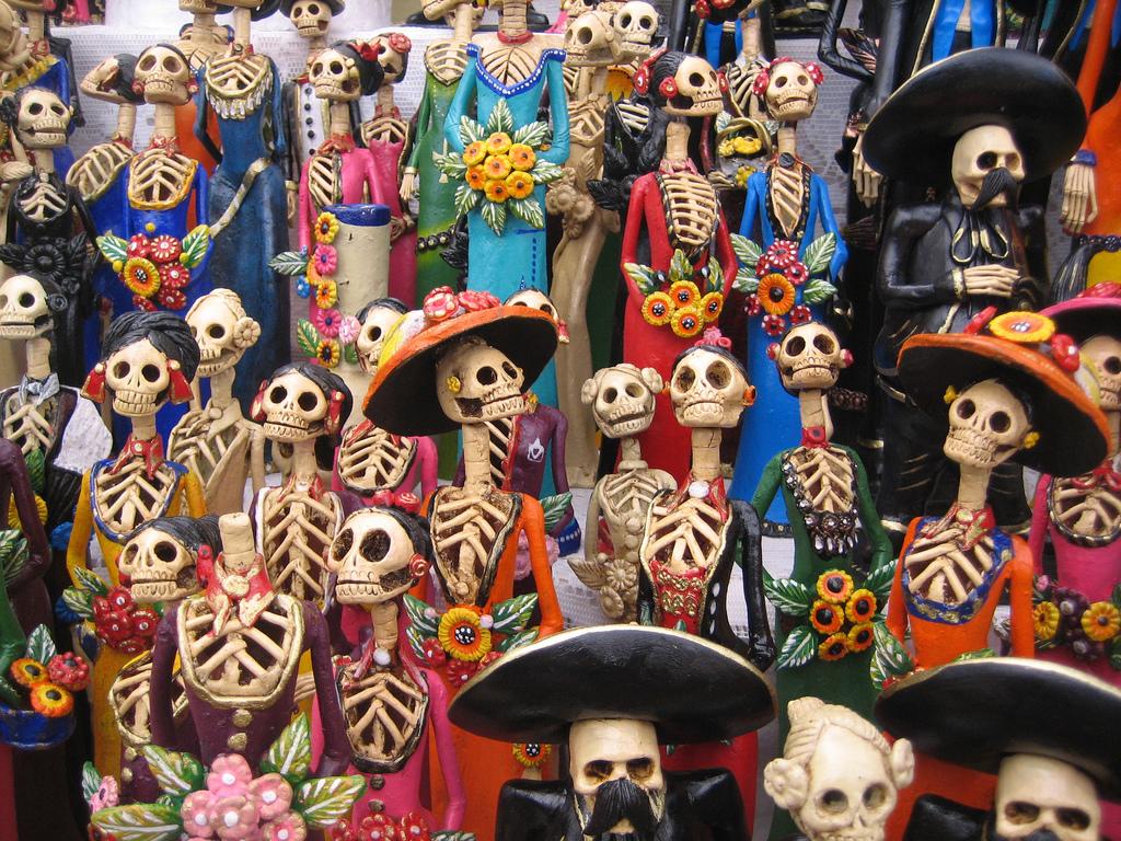 Dia de los muertos, skeletons