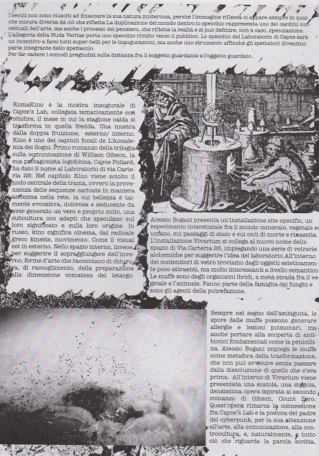 Fanzine Unkown Pleasures, numero zero, Komakino, grafiche Francesca De Paolis, 2
