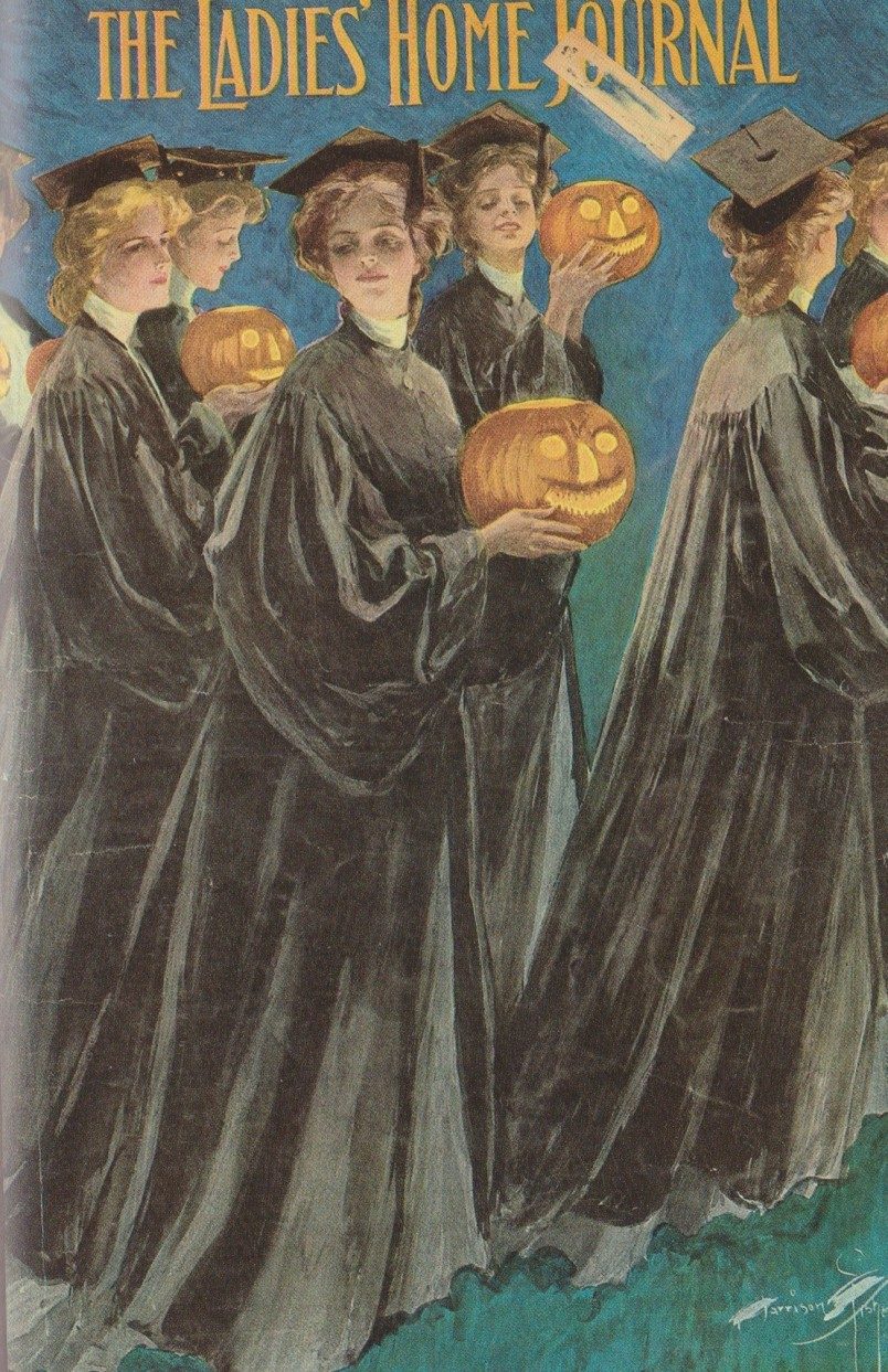 Jim Heimann, Halloween Vintage Holiday Graphics, Taschen, 2005, The Ladie's Home Journal, 1905
