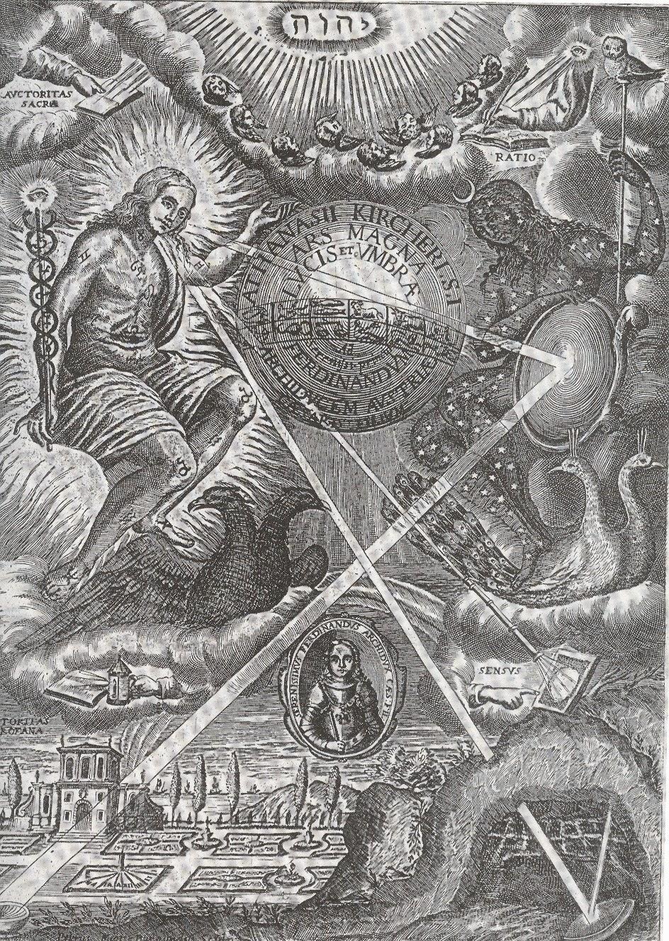 Athanasius Kircher, 1671 - Ars magna lucis et umbrae