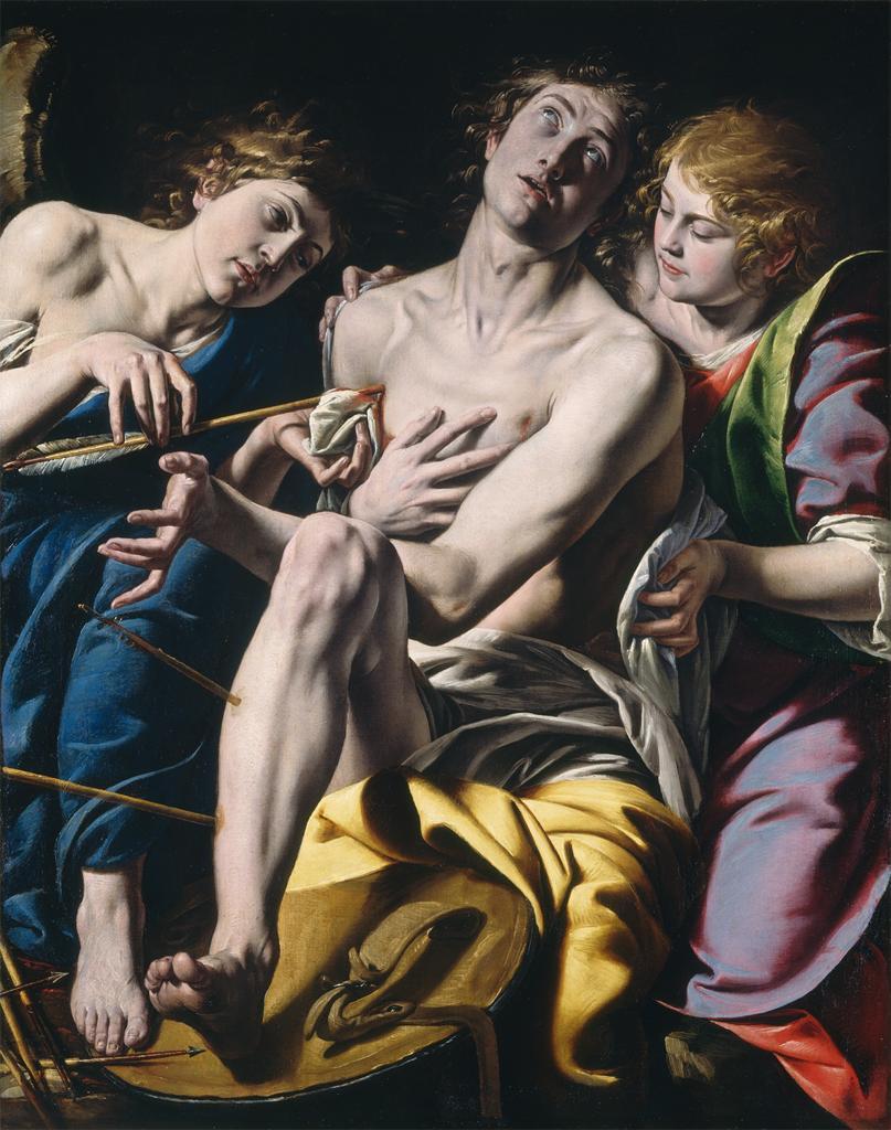 Antonio d'Enrico (Tanzio da Varallo), Saint Sebastian, c. 1620