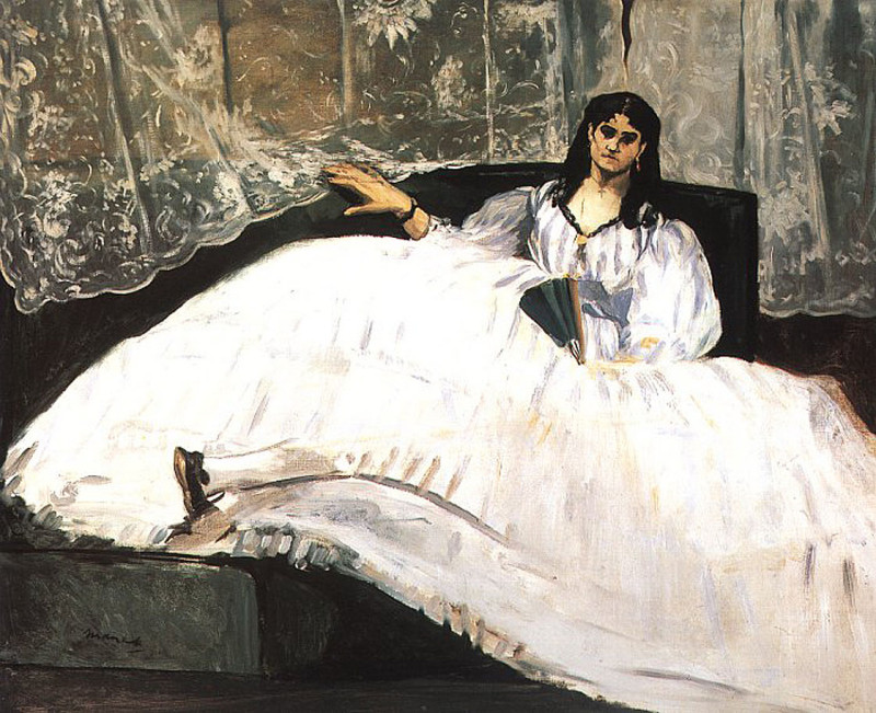 Edouard Manet, portrait-of-jeanne-duval-1862