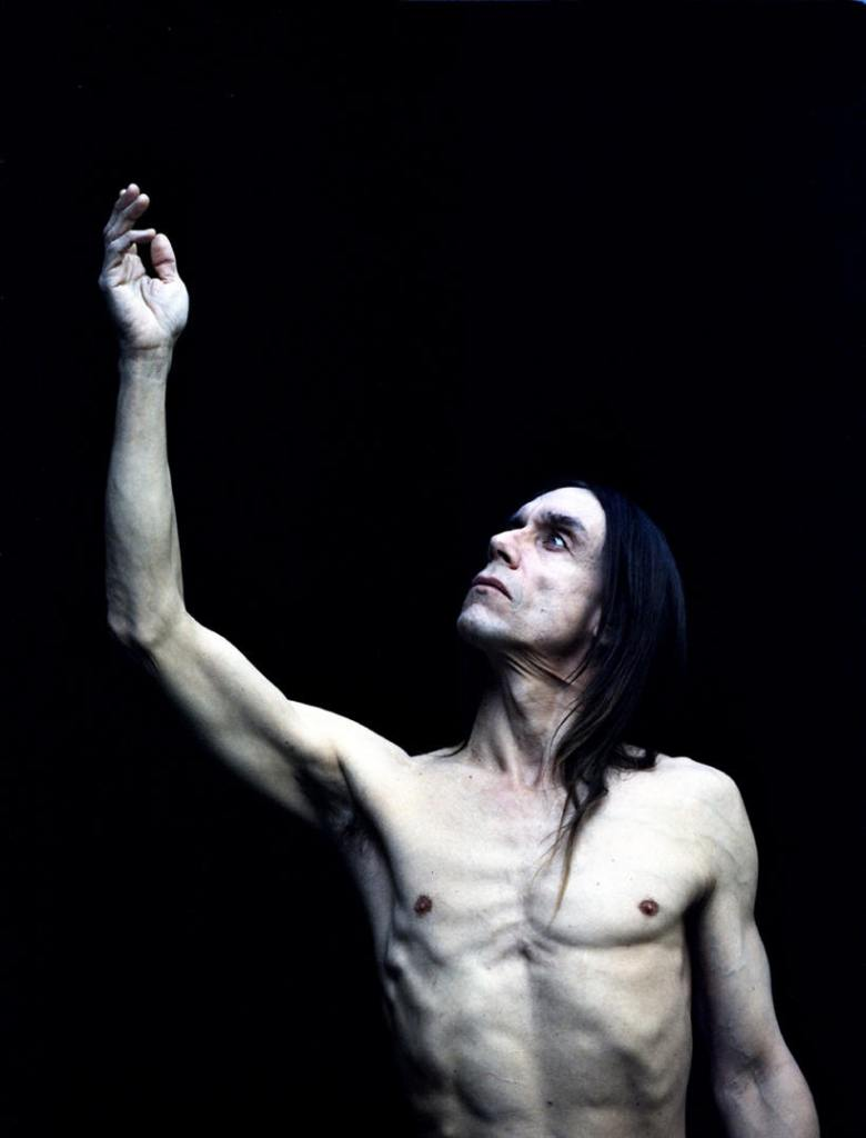 Iggy Pop by Stephen Stickler, 1993