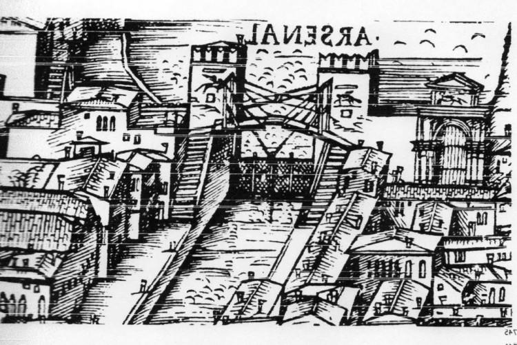 Arsenale di Venezia, incisione