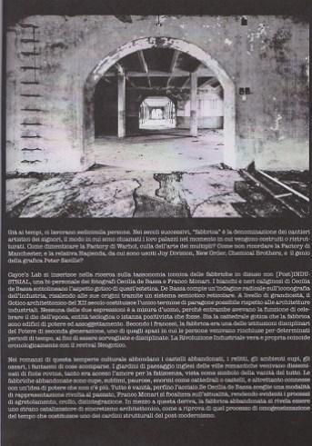 Fanzine Unknown Pleasures numero zero, Post-industrial, grafiche Francesca de Paolis 3