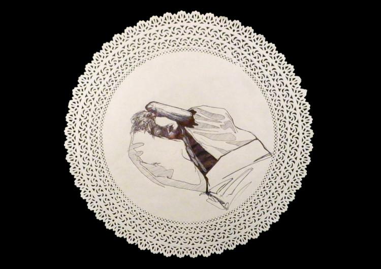 stella (Stefania Gagliano), Die Candy, tecnica mista, 2013