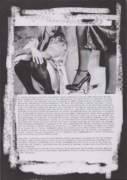 Fanzine Unkown Pleasures, numero uno, Mademoiselle Erzulie, grafiche Valentina Mangieri, direz. art. LST, 5