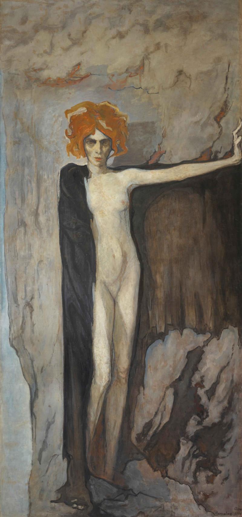 Romaine-Brooks-La-marchesa-Casati-1920-circa-Collezione-Lucile-Audouy