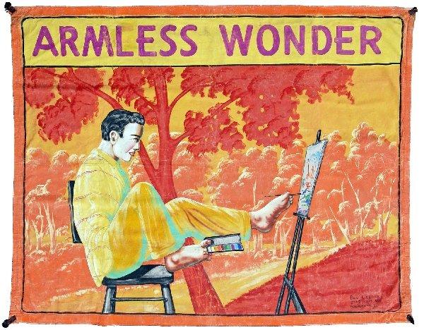 Vintage Freakshow Poster