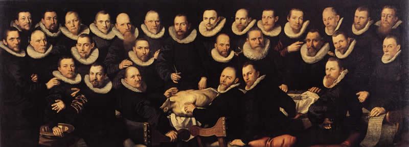 Aert Pietersz, Leziona anatomica di Sebastien Egberts, Amsterdam, Historisch Museum