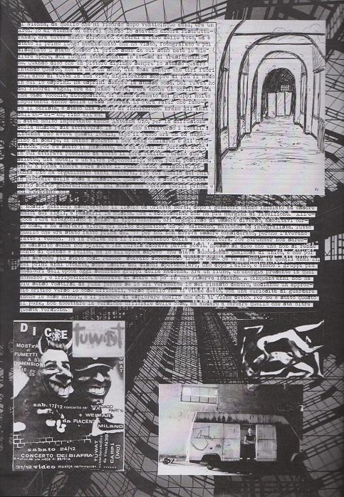 Fanzine Unknown Pleasures numero uno, Tu Quoque Punk - Andrea Chiesi, grafiche Valentina Mangieri, direz.artistica LST2